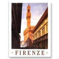 Firenze Italia ~ Florence Italy ~ Vintage Travel Postcards