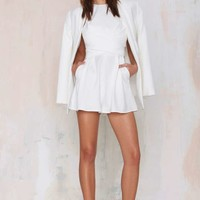 CameoCollective Trails Pleated Romper