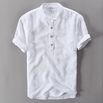 Men's linen shirt for summer