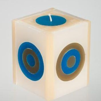 Hana Targets Pillar Candle by CurlewSF on Etsy