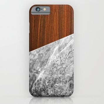 Wooden Marble iPhone & iPod Case by Nicklas Gustafsson | Society6