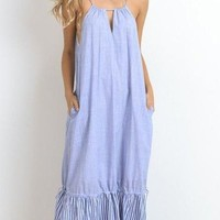 Dayton Striped Maxi Dress