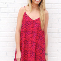 Show Me Your Mumu-Circus Mini Dress-Popsicle Python