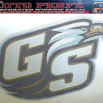 "Georgia Southern Eagles SD 8"" Perforated Auto Window Film Decal University of"