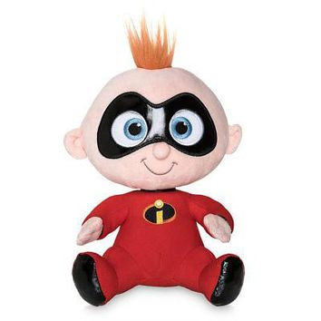 "Licensed cool The Incredibles 2 Jack Jack 8 1/2"" Soft Stuffed Plush Toy Doll Disney Store NEW"