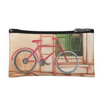 Bicycle Cosmetic Bag
