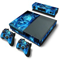 Airbrushed Skull Skin - Xbox One Protector