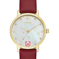 cancer zodiac metro watch