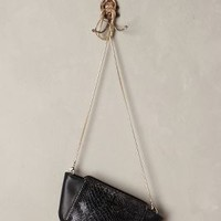 Velana Leather Crossbody Bag by Pour la Victoire Black One Size Bags
