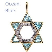 Diamond Star Jewelry Necklace Pendants