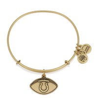 Indianapolis Colts Football Charm Bangle