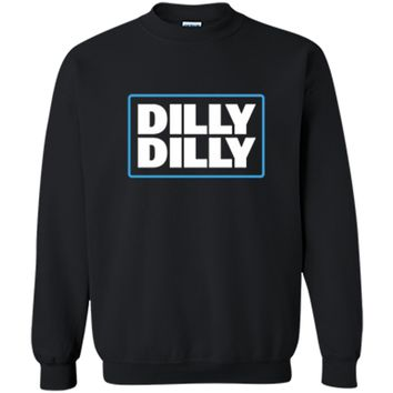 Bud Light Official Dilly Dilly  Printed Crewneck Pullover Sweatshirt