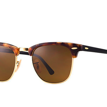 Ray Ban Clubmaster Sunglass Brown Havana RB 3016 1160