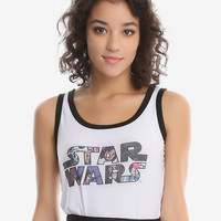 Star Wars Comic Fill Logo Tank Top