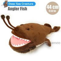 Strapya World : Deep Sea Creature Angler Fish Plush (44 cm)
