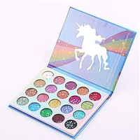 Glamierre Unicorn Make-Up Professional Sequined Eyeshadow  Eye Shadow Palette I13762-1
