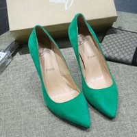 CL Christian Louboutin Women Heels Shoes-14