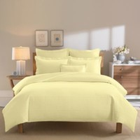 Real Simple® Linear Yellow Duvet Cover