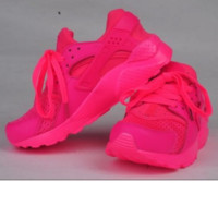 """NIKE"" Women /Man Casual Huarache Running Sport Shoes Sneakers black"