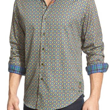 Men's Robert Graham 'Irish Guards' Classic Fit Long Sleeve Sport Shirt,