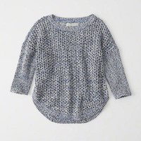 Womens Textured Stitch Sweater | Womens Tops | Abercrombie.com