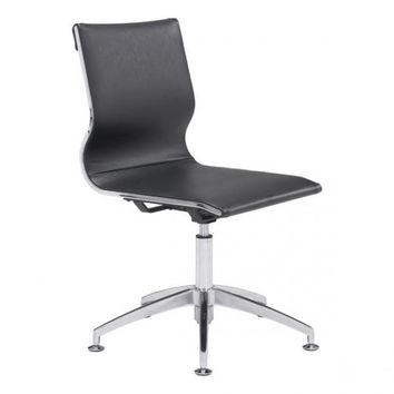 ZUO Modern Glider 100377 Conference Chair Black