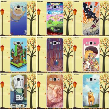 Salvestro All Character Adventure Time TPU Cell Phone Case For Samsung Galaxy A3 A5 A7 J1 J2 J3 J5 J7 2015 2016 2017