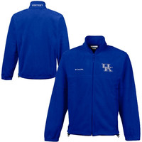 Kentucky Wildcats Columbia Flanker II Jacket – Royal Blue