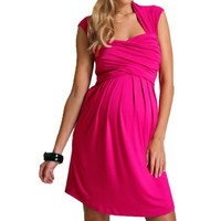 Fancy That Clothing Women's Maternity Dress Jersey Dress