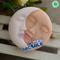 Nicole Moon And Sun Homemade Silicone Molds For Soap, Easy Unmold Silicone Molds For Soap Making
