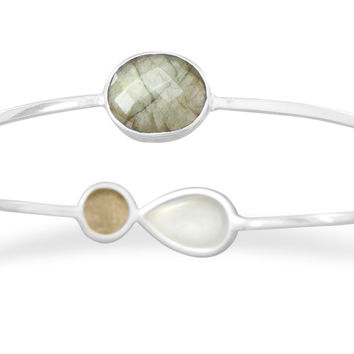 Genuine Stone Bangle