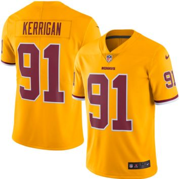 KUYOU Washington Redskins Jersey - Ryan Kerrigan Color Rush Limited Jersey - Men's
