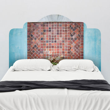 Paul Moore's Creative Colors Headboard wall decal