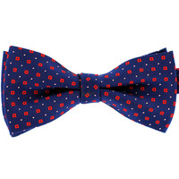 Tok Tok Designs Pre-Tied Bow Tie for Men & Teenagers (B303, Navy Blue)