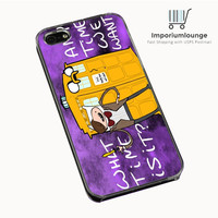Doctor Who Adventure Time IPhone 4| 4S Cases