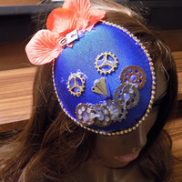 Veiled Steampunk Fascinator