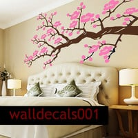 Vinyl Wall decals wall stickers  Cherry Blossom by walldecals001