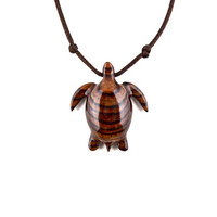 Sea Turtle Pendant, Sea Turtle Necklace, Turtle Pendant, Mens Necklace, Wood Turtle Necklace, Turtle Jewelry, Nautical Jewelry, Wood Jewelry