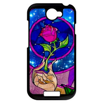 Beauty And The Beast Rose HTC One S Case