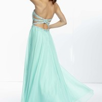 Chiffon Gown by Paparazzi by Mori Lee