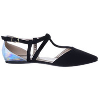 Holy Hologram Pointed Toe Flats