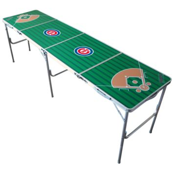 MLB Chicago Cubs Chicago Cubs 2x8 Tailgate Table