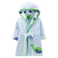 Just One You™Made by Carter's® Newborn Boys' Dinosaur Robe - Blue