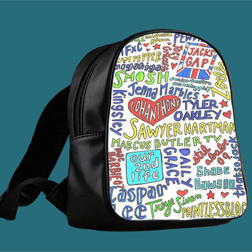 Quotes The Youtubers for Backpack / Custom Bag / School Bag / Children Bag / Custom School Bag *