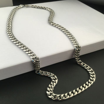 Stylish New Arrival Gift Jewelry Shiny Hot Sale Fashion Stainless Steel Hip-hop Club Necklace [6542760643]