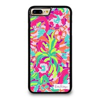 LILLY PULITZER SUMMER iPhone 4/4S 5/5S/SE 5C 6/6S 7 8 Plus X Case