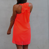 Dreaming Of You Dress: Neon Pink | Hope's