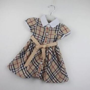 Burberry Toddler Bow Tie waist Dress Baby!