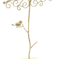 ModCloth Dorm Decor, French A Little Bird Hold Me Jewelry Stand