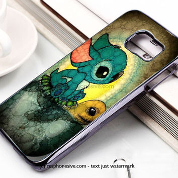 Disney Stitch Samsung Galaxy S6 and S6 Edge Case